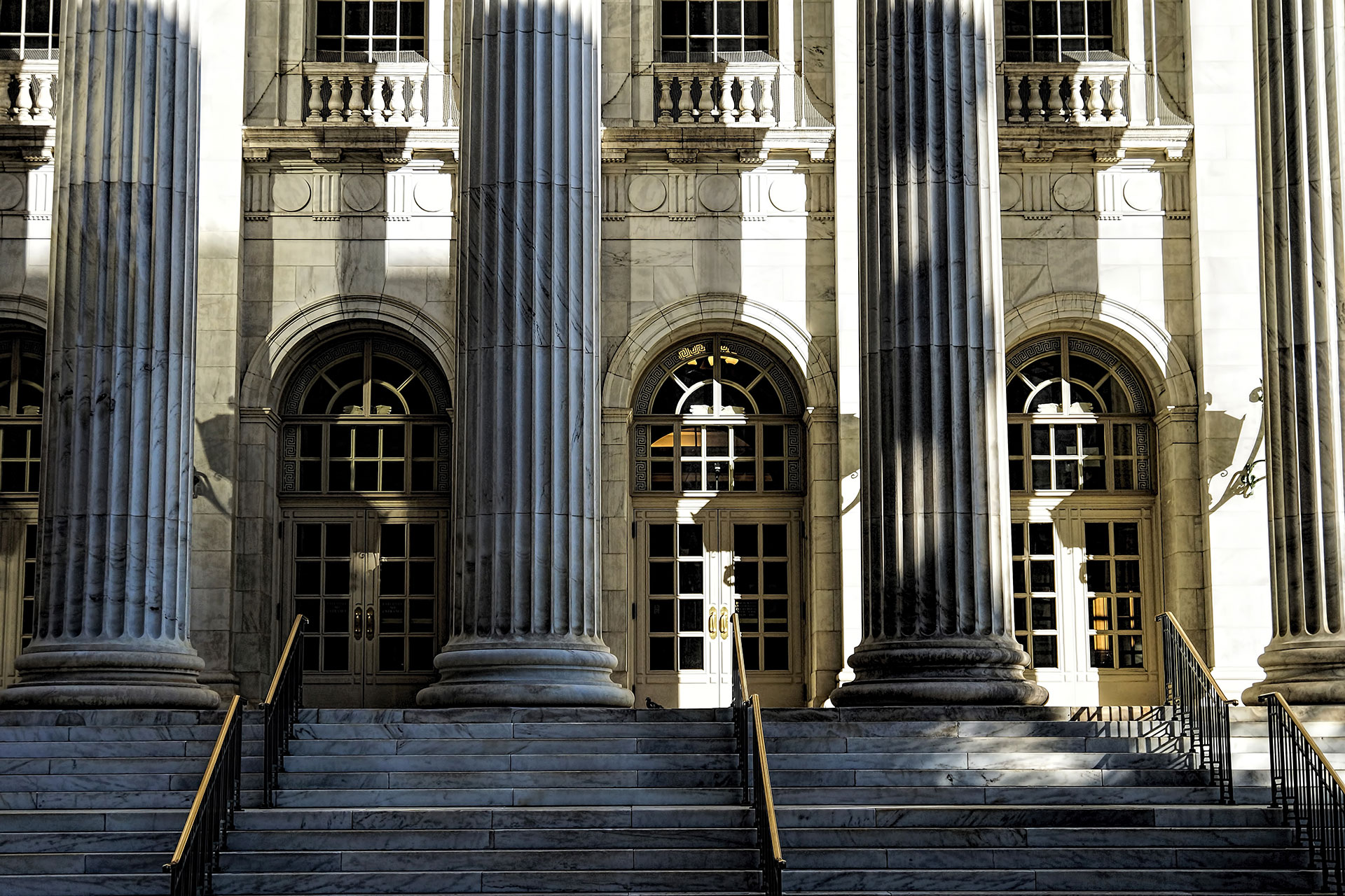 Front of Courthouse